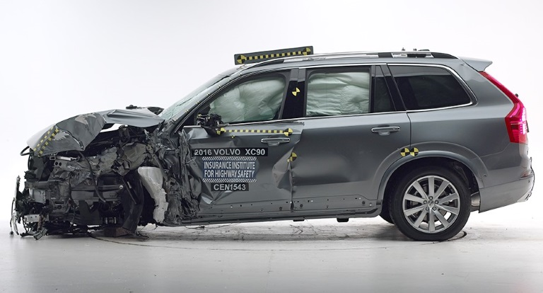 XC90 IIHS Top Safety Pick+
