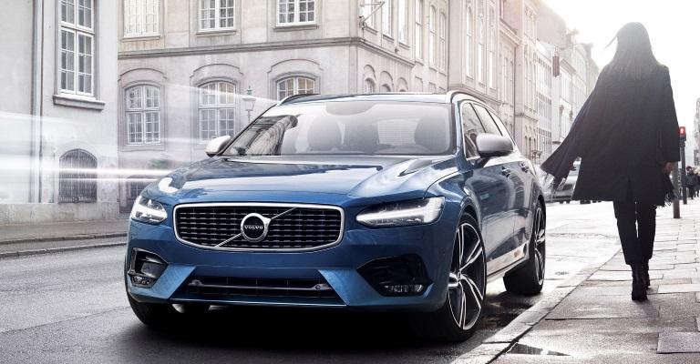 Volvo V90 R-Design Location