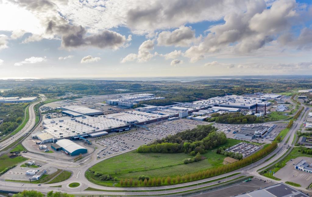 Volvo Cars Production Plant Torslanda, Sweden